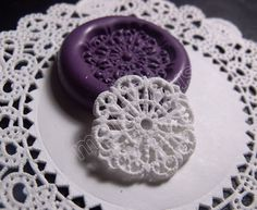 Etsy miniature doilies flexible silicone mold