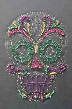 Who knew a skull could be pretty