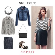 It's party time and #spring is coming! Therefore we show you our cool #night #out #look. Happy #weekend. :)