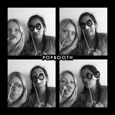 PopBooth fun! Fun Photo booth pictures!