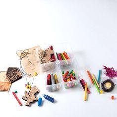 Kids Craft kit www.norangbox.com Norangcafe in Seoul