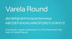 Varela Round Free Font