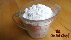 Quick Tips: How To Make Self Raising Flour! Watch the video here: http://www.youtube.com/watch?v=SM8M85GD4Q8