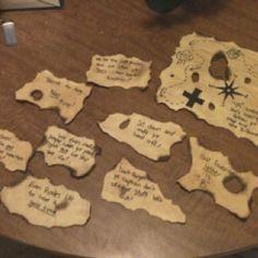 pirates treasure map clues kids pirate treasure hunt masters of