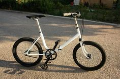 Bmx folding bicicleta plegable aurorita single speed old vintage bike