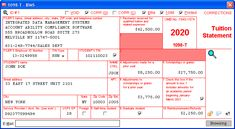 Tuition Statement - Data is entered onto windows that resemble the actual forms. Imports student information from spreadsheets or delimited text files. Files Copy A electronically via IRS FIRE or on preprinted laser forms. Prepares student and filer copies on ordinary copy paper or PDF for eDelivery. Irs Forms, Check Box, Student Information, Labor Law, Copy Paper, City State, Videos, Accounting, User Interface