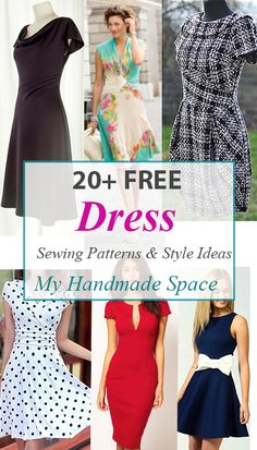 FREE Dress Patterns & Style Ideas(Diy Clothes)