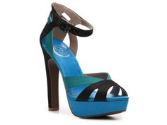 "JS by Jessica Storsa Sandal(5 1/4"" heel!) from DSW...also comes in a Color Block Pink..$59.95"