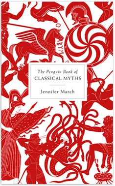 for my nephews...The Penguin Book of Classical Myths by Jennifer March. Cover art by Coralie Bickford-Smith.