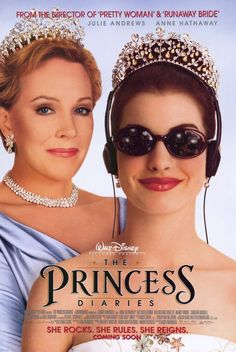 noooo way this movie can be disliked! THE PRINCESS DIARIES (2000) (Julie Andrews and Anne Hathaway)