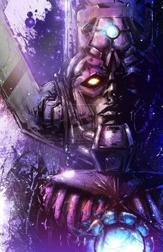 Galactus is only cool on paper.