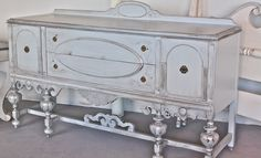 Antique sideboard, love!
