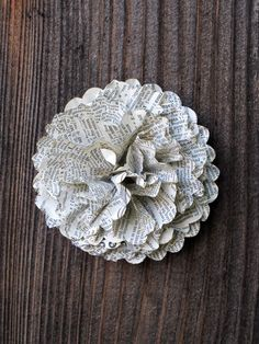 Large Vintage style paper flowers