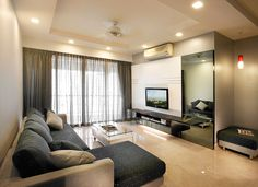 Living Room Design by In-Expat