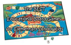The best educational board games for elementary school kids..