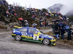 Ford Escort RS Cosworth driven by Patrick Bernardini and Bernard Occelli to win the 1996 Monte Carlo Rally. Sport Cars, Race Cars, Ford Motorsport, Monte Carlo Rally, Monaco Grand Prix, Sr1, Ford Escort, Car Set, Rally Car