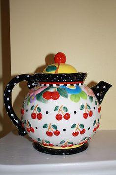 Mary Engelbreit Oh So Breit teapot