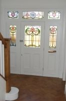 Hair And Beauty Forum Stained Glass Door, Stained Glass Designs, Stained Glass Panels, Stained Glass Patterns, Leaded Glass, Glass Doors, House Front Door, House Front Design, Front Porch