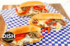 Lunch Recipes, Beef Recipes, Healthy Recipes, Healthy Meals, Taste Of Philly, Falafel Waffle, Cheesesteak Recipe, Sheet Pan Suppers, Game Day Snacks