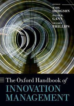 Oxford Handbook of Innovation Management