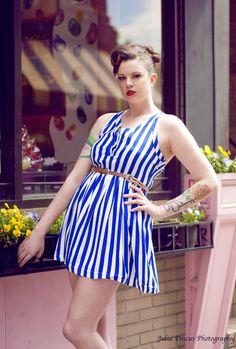 Daisy Spade Sailor Dress