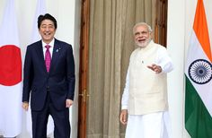 Japan and India agrees on bullet train nuclear deals #RagnarokConnection