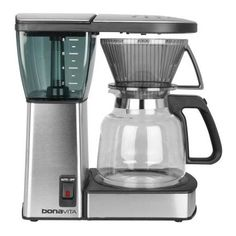 Bonavita BV1800 8-Cup Coffee Maker with Glass Carafe Bundle