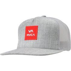 e4898e00d37 RVCA VA All The Way Heather Grey Snapback Trucker Hat Tacoma Trd