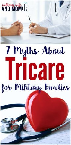 Learn several myths about Tricare - insurance for military families. Benefits for military spouses and families. via /lauren9098/