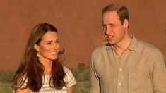 Prince William and Kate, Duchess of Cambridge, follow in Charles and Diana's footsteps at Uluru | Mail Online