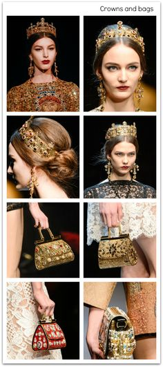 autum fashion: crowns and bags Headdress, Headpiece, Accessorize Hats, Tiara Hairstyles, Baroque, Passion For Fashion, Royals, Jewerly, Angels