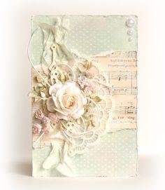 handmade shabby chic card