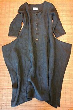 Linen dress made by HF-R