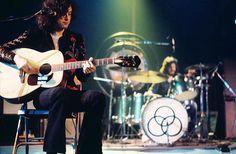 Led Zeppelin performing in California, June 23, 1972 #childofwild