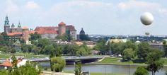 Przelot platformą widokową unoszoną balonem: Krakow //