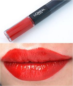 Loreal Infallible Pro-Last Lipcolor RED INFALLIBLE 211