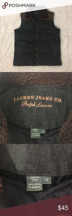 Lauren Jeans Co. Ralph Lauren Women's Jacket Vest Lauren Jeans Co. Ralph Lauren Jacket. Women's Small. 99% Cotton and 1% Elastane. Lightly Worn. In Good Condition. Ralph Lauren Jackets & Coats