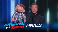 Paul Zerdin: Funny Ventriloquist Amazes Audience - America's Got Talent ...