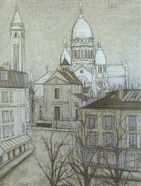 Le Sacré-Coeur de Montmartre by Bernard Buffet