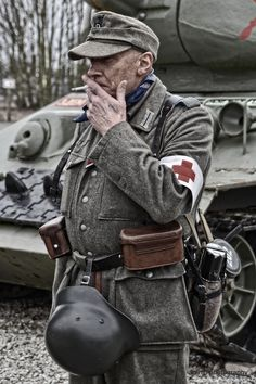 German soldier - reenactment