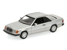 Mercedes-Benz 300 CE Coupe (W124) (1990) Diecast Model Car by Minichamps 400037021 This Mercedes-Benz 300 CE Coupe (W124) (1990) Diecast Model Car is Silver and features working wheels. It is made by Minichamps and is 1:43 scale (approx. 10cm / 3.9in long).