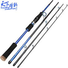 Cheap lure rod, Buy Quality fishing rod directly from China 4 section Suppliers: Fishing Rod 4 Section Carbon Spinning Carp Fish Stand Pole Vava De Pescar Angelrute Canne a Peche Rod Guide Rings
