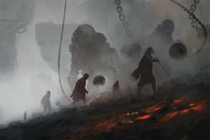 minesearchers by Rostyslav Zagornov on ArtStation.
