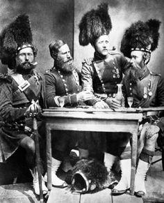 Guerra de Crimea, escoceses.