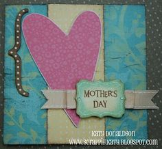 An Inside to my Heart...Mother's Day Card