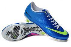 4dd329ec4f55 Nike Mercurial Vapor IX FG Pro Cleats - Blue Volt Blue Green  New Soccer  Cleats · Nike Free 3Soccer ...