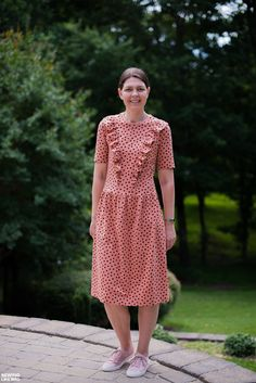 Sewing Like Mad: Keely Knit Top Turned Dress.