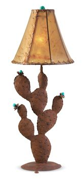 Flowering Cactus Lamp