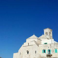 Nel blu dipinto di blu il Duomo antico di San Corrado  #molfetta #ridieassapori #igerspuglia #pasquainpuglia #pasquaabari #mypugliaexperience #igersbari #weareinpuglia #ig_molfetta #tunonconoscilsud #whatitalyis #expo2015