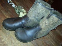Dansko Harper Brown Mocha Distressed Leather  Cuffable Ankle Boots SZ 40  #Dansko #Harper